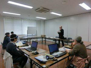 音訳製作技術講習会の様子
